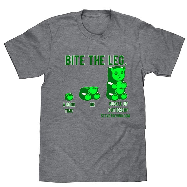 Steve Trevino Bite the Leg T-Shirt
