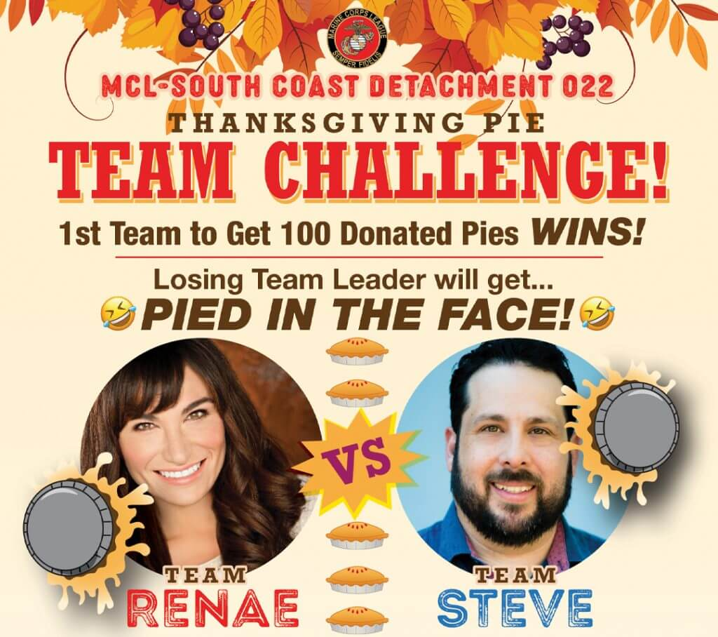 Steve Treviño & Captain Evil Pie in the Face Challenge