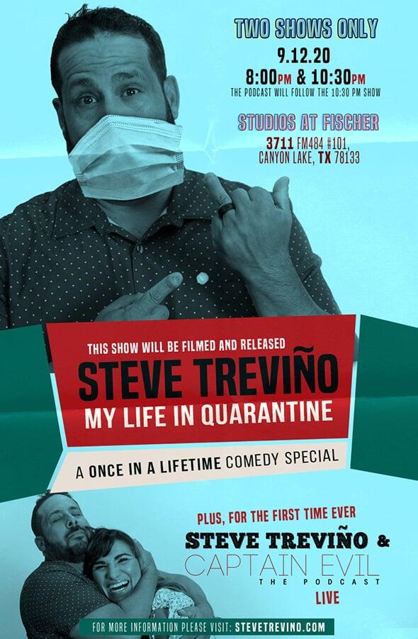 Steve Treviño My Life in Quarantine Life Filming