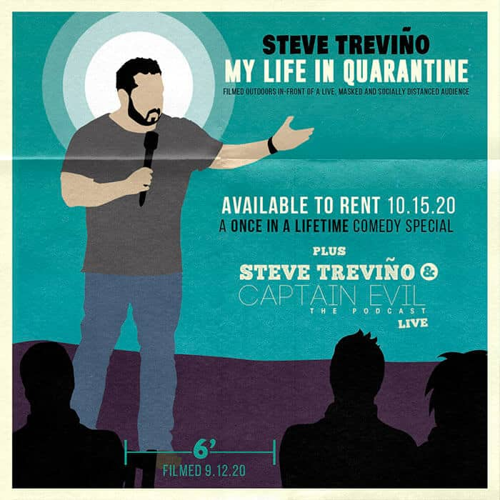 Steve Treviño My Life In Quarantine Pop Up
